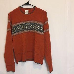 Columbia Sweater Women's Large Wool Blend